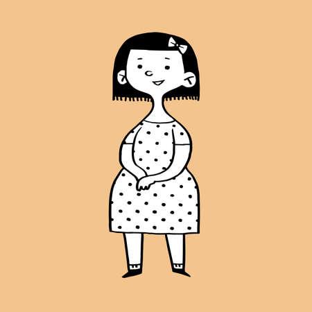Girl  イラスト・ベクター素材
