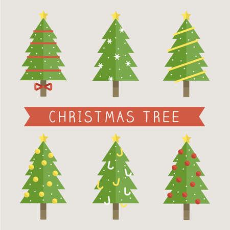 Christmas Tree 向量圖像
