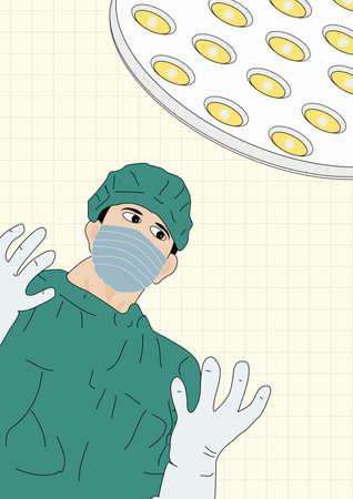 operating room: Prepararse para la Cirug�a