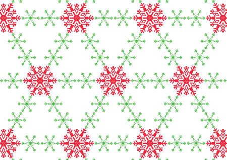Snowflake on White Background Stock Vector - 16188576