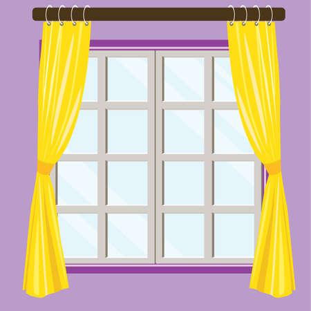 vista ventana: Ventana Inicio opini�n del fondo Vectores