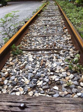grid: Old Railway Stock Photo