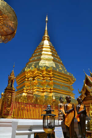 doi: Phra That Doi Suthep Stock Photo