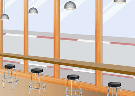 bar stool: Coffee Bar Seat