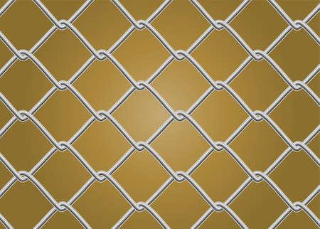 Broken Chain Link Fence Vector simple broken chain link fence vector background industrial style