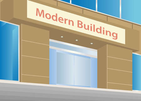 office building: Modern Office Building