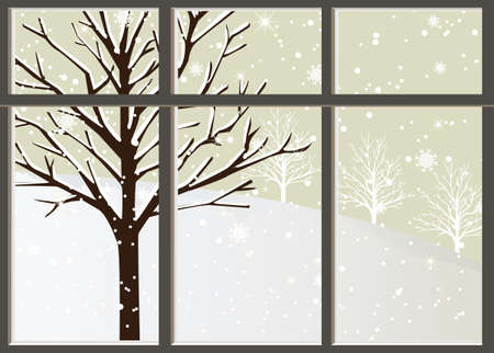 loneliness: Loneliness In Winter Illustration