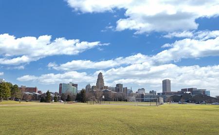 skyline city: Buffalo New York