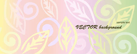 airiness: Pink floral background. Illustration