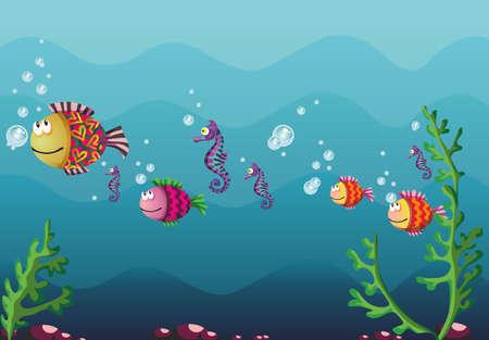 schnorchel: Unterwasser
