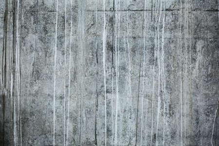lineas blancas: Tiro delantero de la textura de la pared de hormig�n. En la textura claramente vetas visibles de agua que dejaron las l�neas blancas.