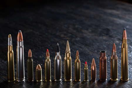 ammunition: Large-caliber ammunition