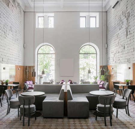 Restaurant in loft stijl