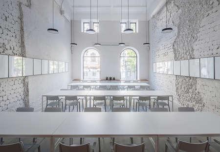 Cafe in loft style Zdjęcie Seryjne - 83603212