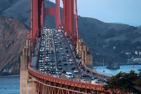 Beautiful cityscape of Golden Gate Bridge