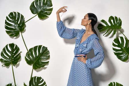 Asian model in studio Stock Photo