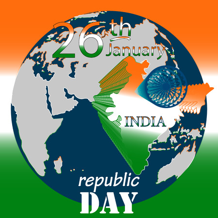 India festive background. Business background. Republic Day. Independence Day. It can be used as poster, background, card, design element in your Project
