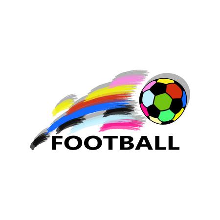 Football background. Vector illustration. Illusztráció