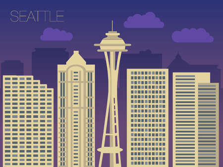 seattle: the appearance of the streets of the capitals of the world