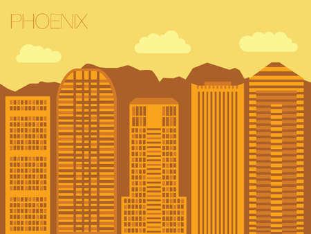 ave fenix: la aparici�n de las calles de las capitales del mundo Vectores