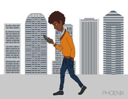 phoenix: Servicios en línea en el teléfono inteligente - entretenimiento y negocios a través de las tecnologías de nube