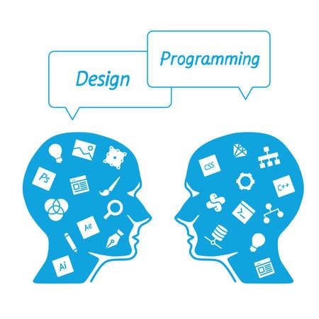 specialist: head it specialist in profile - the digital tools employees - designer vs programmer