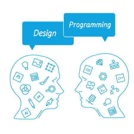 it professional: head it specialist in profile - the digital tools employees - designer vs programmer