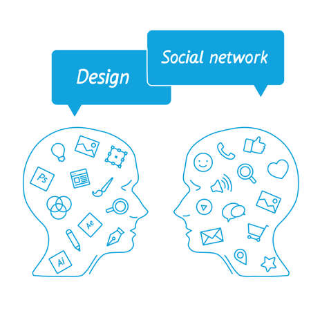 marketer: head it specialist in profile - the digital tools employees - designer vs. marketer social media