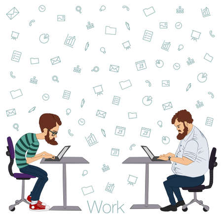 an analyst: Tools and programs for collaboration. Freelance and remote team of developers and designers. Manager, freelancer, designer, programmer, business analyst