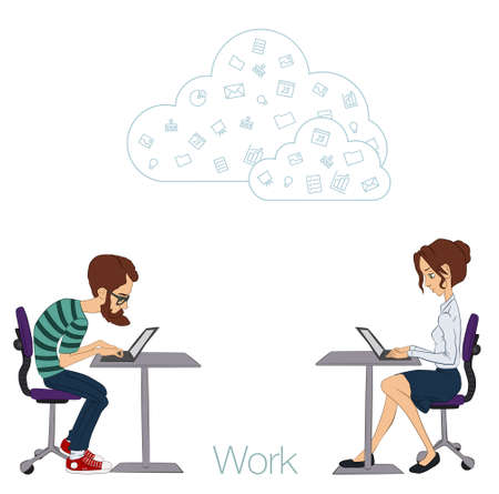 Tools and programs for collaboration. Freelance and remote team of developers and designers. Manager, freelancer, designer, programmer, business analyst