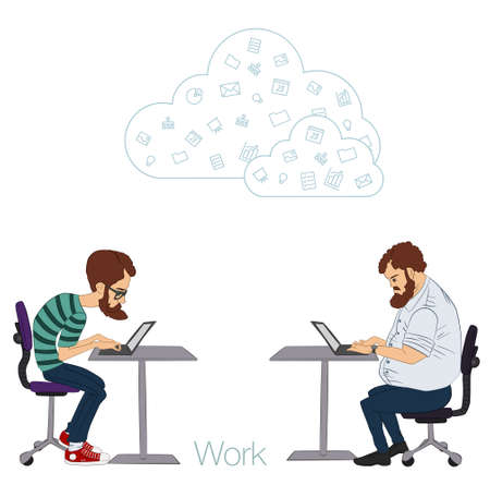 developers: Tools and programs for collaboration. Freelance and remote team of developers and designers. Manager, freelancer, designer, programmer, business analyst