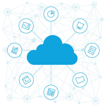 cloud computing: Sharing of working files and reference materials employees project. Tools for business and work. Cloud technologies and services on the devices. Social networking and media, technologies and trends.