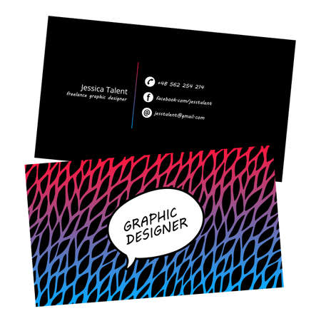 Abstract Design for Colorful Backgroud Illustration