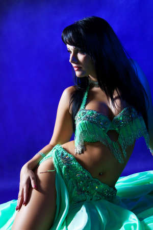 Beautiful women  Belly dancer  Stock Photo