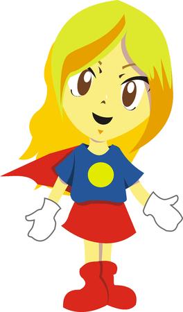 supergirl: Sute Girl Use super hero costume