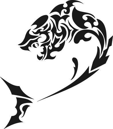 tatoos: Shark tribal