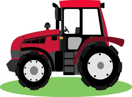 hiway: Tractor Cartoon