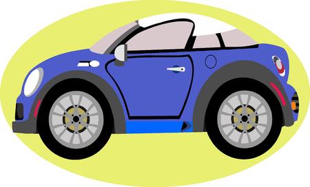 hiway: Sport Car  Cartoon
