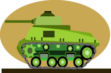 hiway: Tank Cartoon