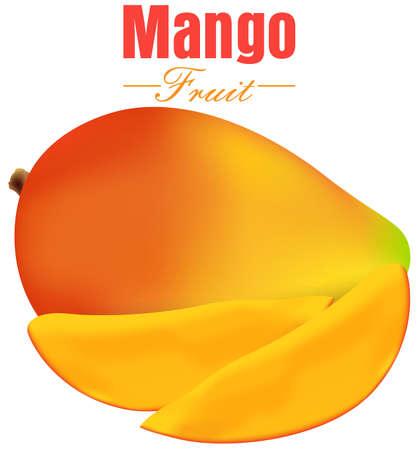 mango slice: Mango