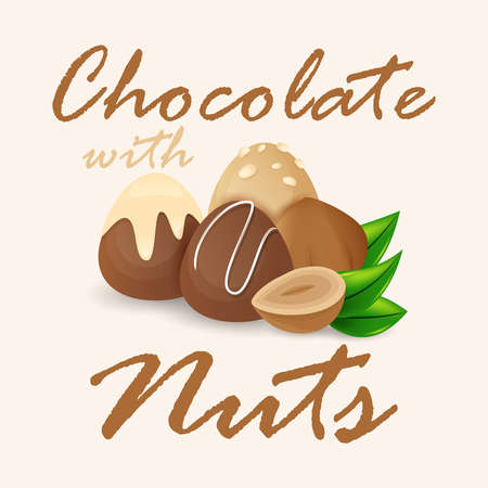 nut: chocolate with nuts