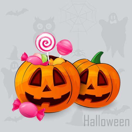 halloween castle: Halloween Illustration