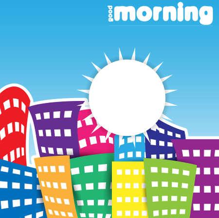 apartment buildings: good morning