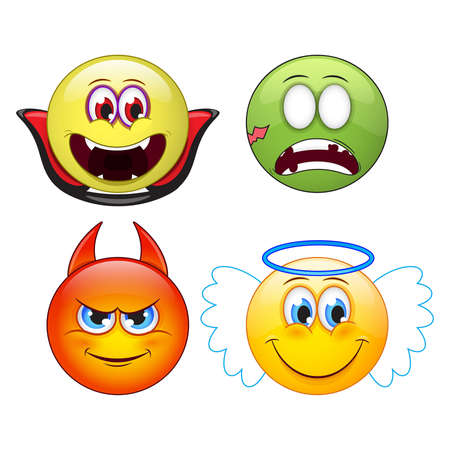 vampire teeth: emoji