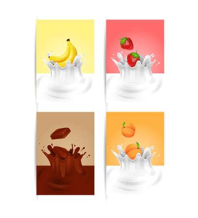sampling: Fruit Milk