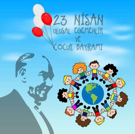 23 avril la souveraineté nationale et de la Journée des enfants