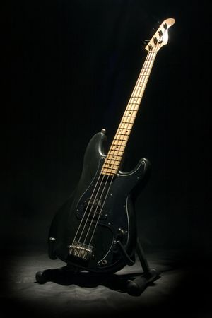 bass guitar photo