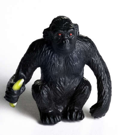 bannana: monky toy