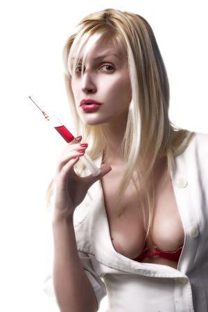 bloody nurse Stock Photo - 392599
