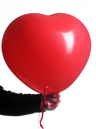palloncino cuore: palloncino rosso cuore